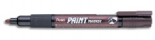 Brown Pentel Permanent bullet tip paint marker MMP20